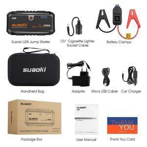 Accessoires du Suaoki U28