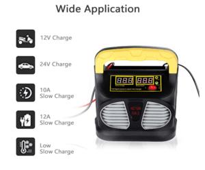 chargeur de batterie Cenxiny - spécificités
