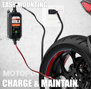 chargeur batterie Motopower