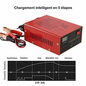 Chargeur de batterie intelligent 12 / 24 V de GreenRibbon
