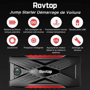 Booster de batterie Rovtop